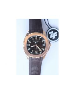 Aquanaut 5167R RG Brown Dial Brown Rubber Strap 324CS (Free box) ZF