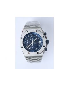 Royal Oak Offshore 25th Anniversary 26237ST Blue Dial Bracelet A7750 JF