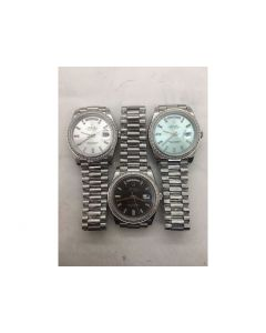 Rolex Day-Date Diamond Bezel Stick Diamond Markers *3 Dials* Bracelet BP A2836