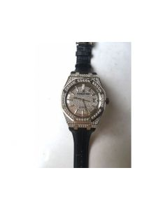 Royal Oak 41mm 15402 Full Diamond Dial Leather JF A3120