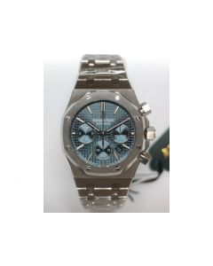 Royal Oak Chronograph Blue Bracelet A7750 JHF