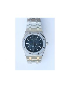 Royal Oak 39mm 15300 White & Black & Blue Dial Bracelet BP A3120