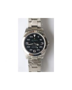 Rolex Air-King 40mm Black Bracelet 3AF A2836(2)