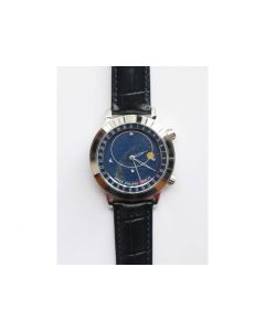 PP Celestial 6102P Blue Dial Leather Strap