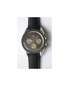 Omega Speedmaster Apollo XVII Gray Dial Leather JHF