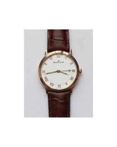 Villeret 6651 RG 1:1 Best Edition White Dial Brown Leather Strap A1151 ZF