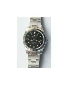 Rolex Explorer I 214270 39mm Black Dial Bracelet A2824 Noob