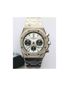 Royal Oak 41MM 26331 Chronograph White Dial Bracelet A7750 JHF