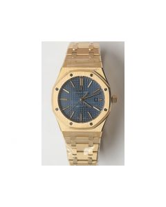 Royal Oak 41mm 15400 YG Blue Dial Bracelet JF A3120 V5