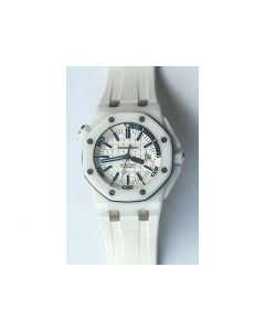 Royal Oak Offshore Diver White Ceramic White Dial Rubber BP A3120