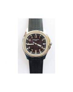 Aquanaut Jumbo 5167A SS 1:1 Best Edition Brown Dial Black Rubber Strap 324CS (Free box) ZF