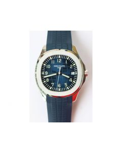 Aquanaut Jumbo 5167A SS 1:1 Best Edition Blue Dial Black Rubber Strap 324CS (Free box) ZF