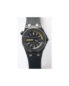 Royal Oak Offshore Diver 15706 Forged Carbon Rubber XF v3 A2836 (Free XS strap)