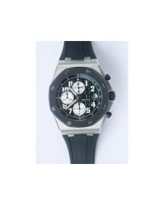 Royal Oak Offshore SS Rubberclad Black Dial Rubber JF A7750